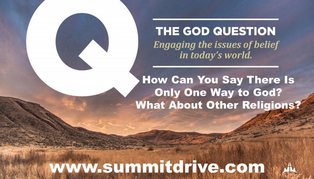 God Question Part Three