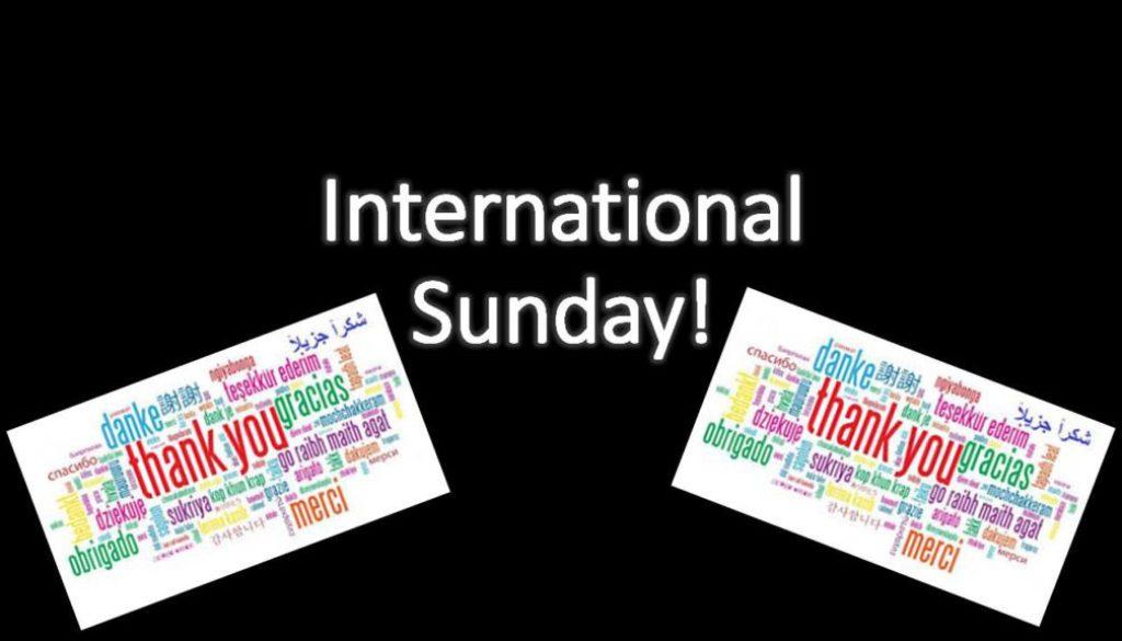 International Sunday Oct 6