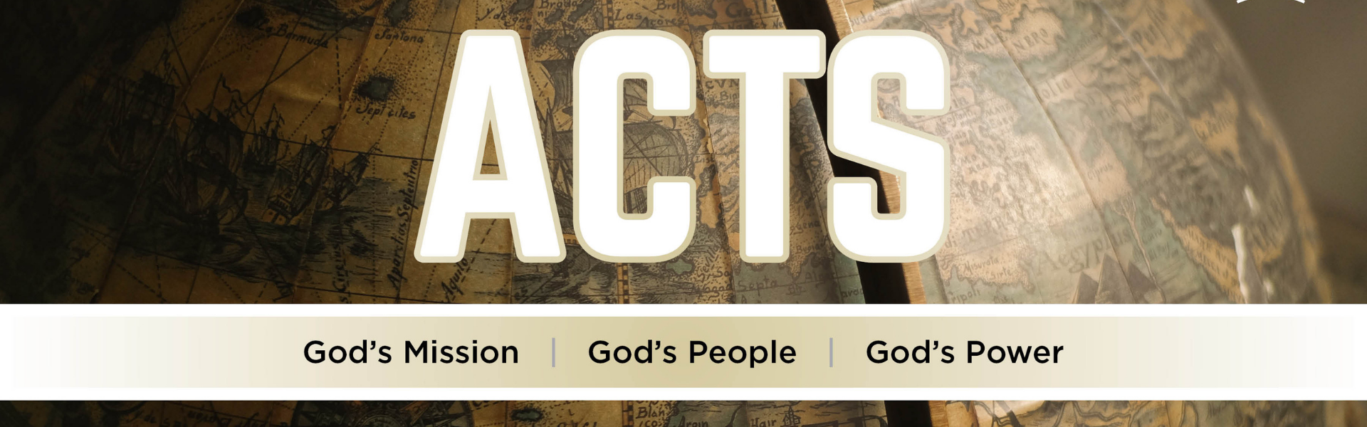 ACTS series- banner